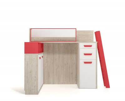 Bunk bed and wall bed