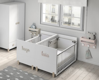 Convertible twin crib Duo Plus