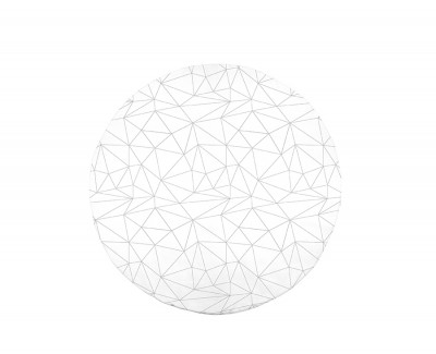 Smooth round rug